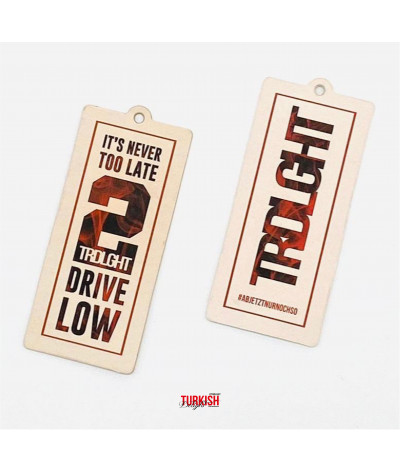 "Air Freshener ""Never2late"""